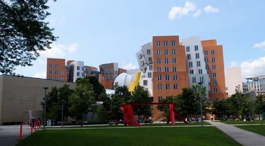 MIT의 프랭크 게리 건물