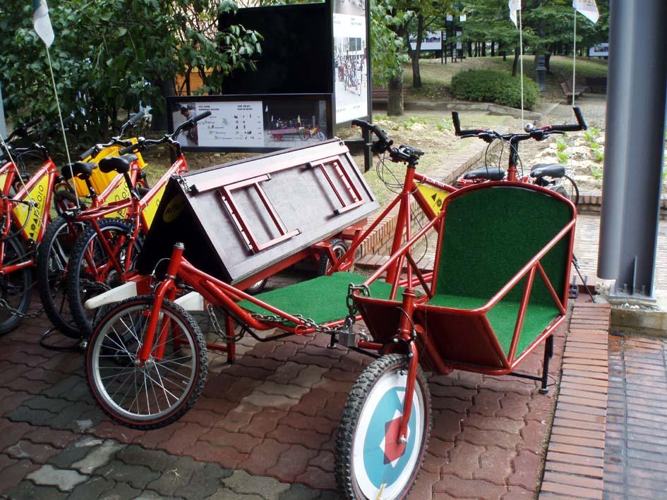 2010 안양공공예술프로젝트에 전시된 자전거