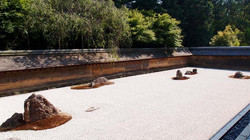 교토 용안사(료안지) 정원