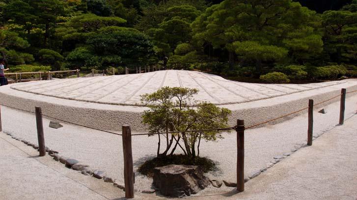교토 은각사(긴카쿠지) 정원