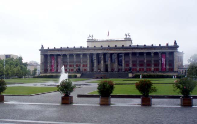 최초의 박물관 건축, 알테스 뮤지엄, 베를린