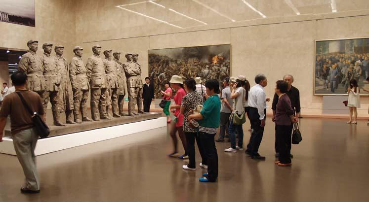 중화예술궁의 전시작품, 상하이