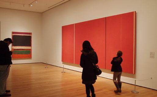 로스코와 뉴만, 미국 미술의 탄생