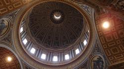 로마 바티칸, 성 베드로 성당의 돔