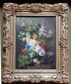 네델란드 꽃 정물화