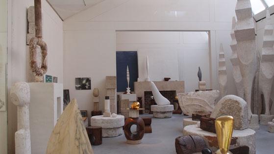 브랑쿠지 스튜디오, 퐁피두 센터