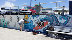 해변의 예술가