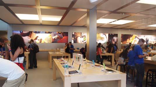 뉴욕의 애플 매장