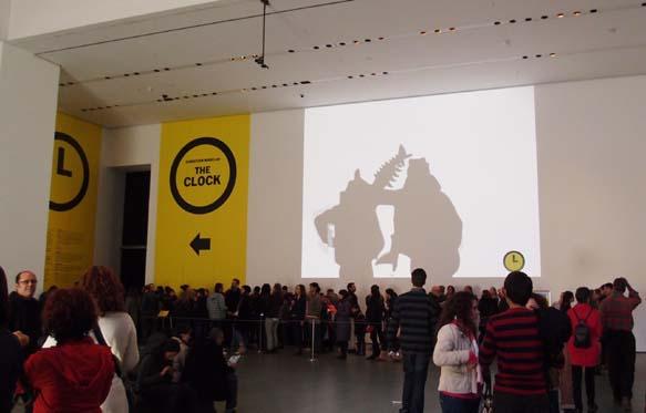 뉴욕, MoMA, The Clock 스크리닝