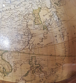 18세기 유럽 지도 속의 한국과 동해