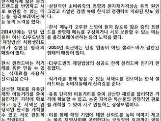 [지식정보] 한식 프랜차이즈 시장