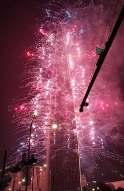 롯데수퍼타워 불꽃축제