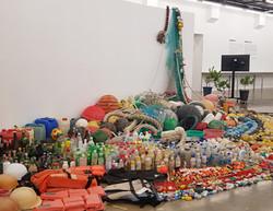 해양쓰레기를 예술로