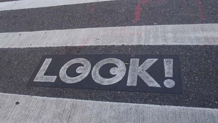 뉴욕의 거리, LOOK!