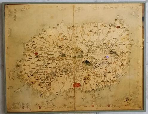 오래된 지도