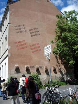 카셀 도큐멘타, 폐허를 살린 예술가들