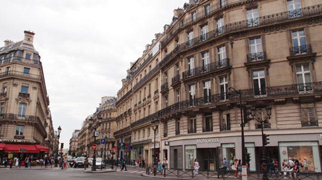 파리의 오스망 양식 건물