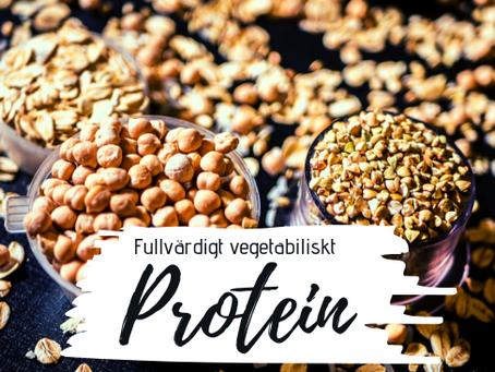 Fullvärdigt vegetabiliskt protein