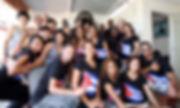 Shumdesalsa Instructors and students, Havana, Cuba, 2018