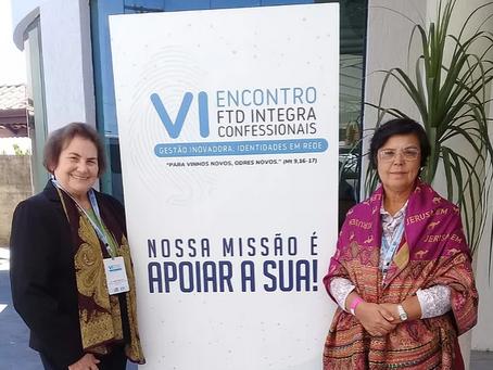 Irmãs do Colégio Sant'Ana no VI encontro FTD Integra Confessionais