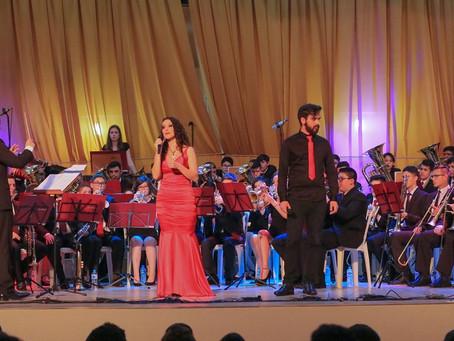 Concerto da Banda de Metais e Percussão do Colégio Sant'Ana