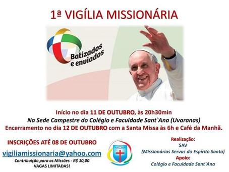 1ª Vigília Missionária