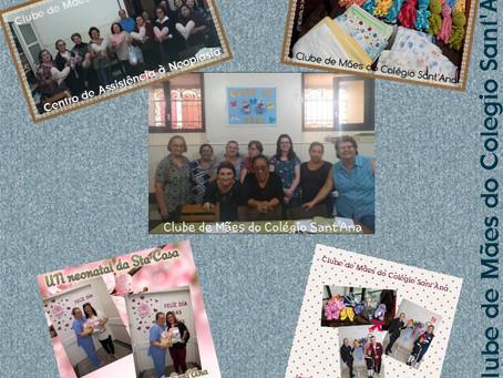 Clube de Mães do Colégio Sant'ana volta com atividades em 2020 em comemoração aos 40 anos