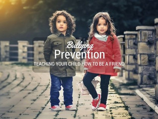 Bullying Prevention: Teaching Your Child How to Be a Friend