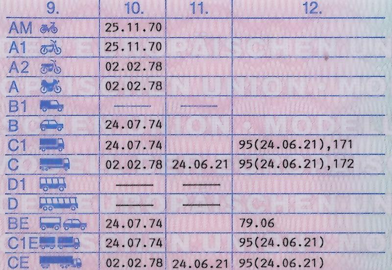 European Driving License