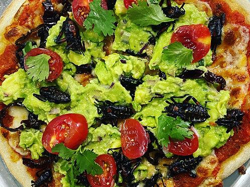 Pizza poblana (familiar, mediana, grande)