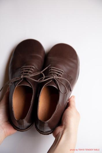 革靴 ポートレート写真