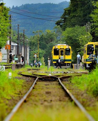 8月いすみ鉄道社長賞
