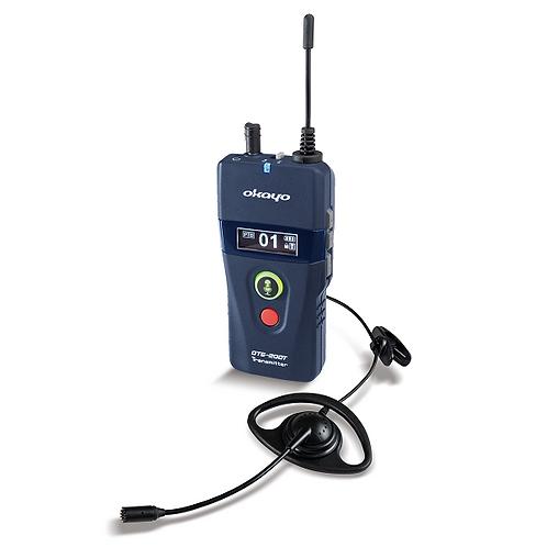 Émetteur OTG-200 + micro-casque avec oreillette