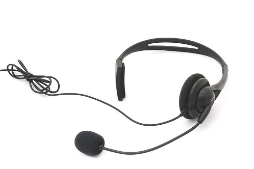 Headset with earphone