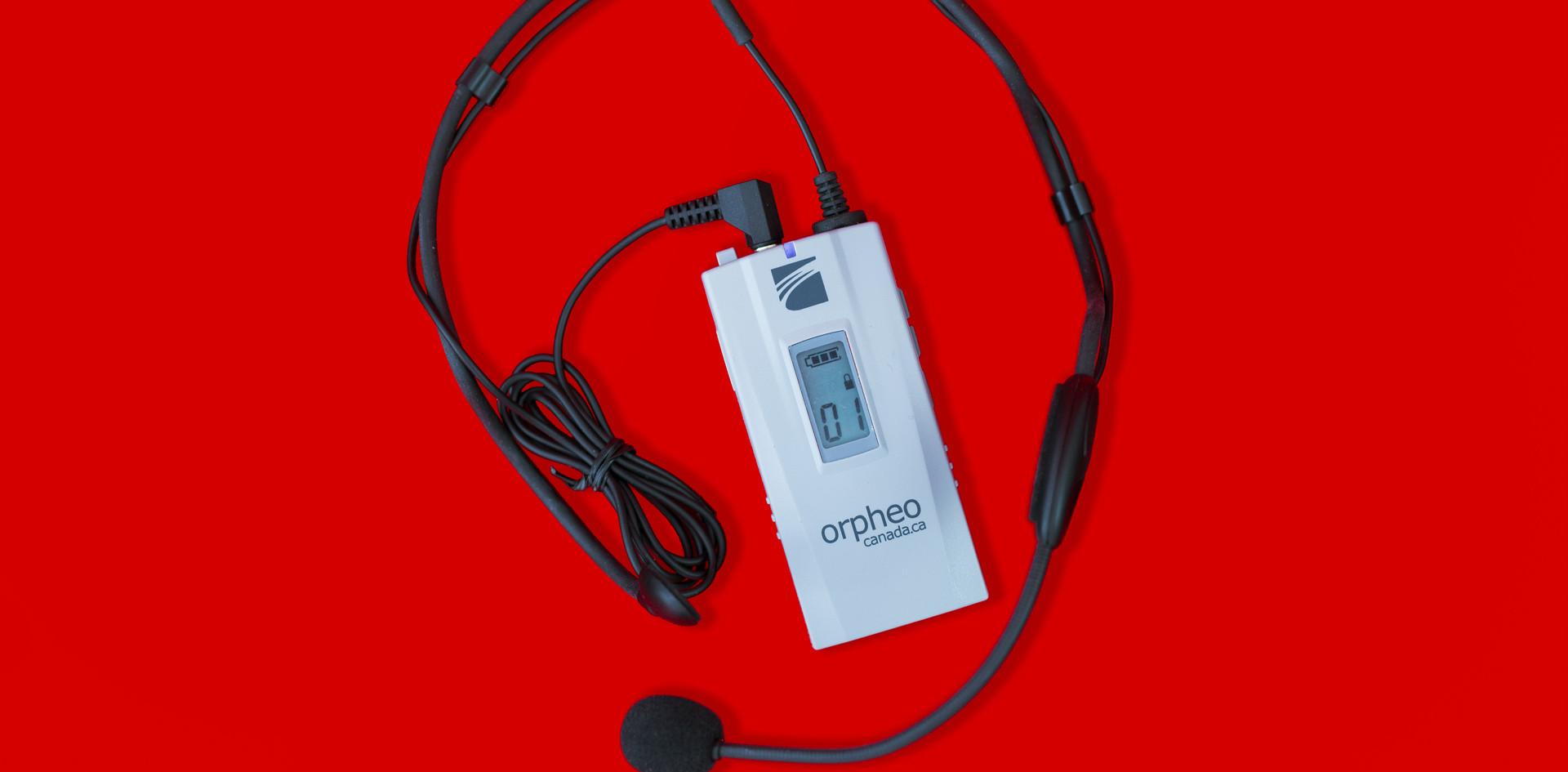 Émetteur et microphone
