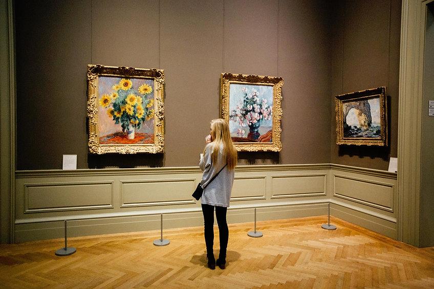 Visiteur musée