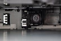 Inside of printer
