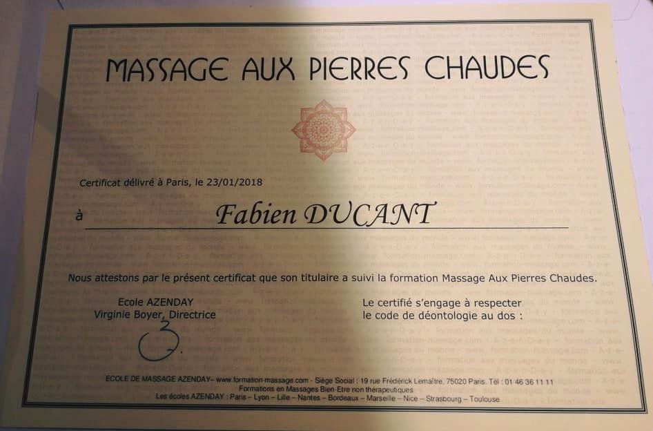 Massage Pierres chaudes valenciennes