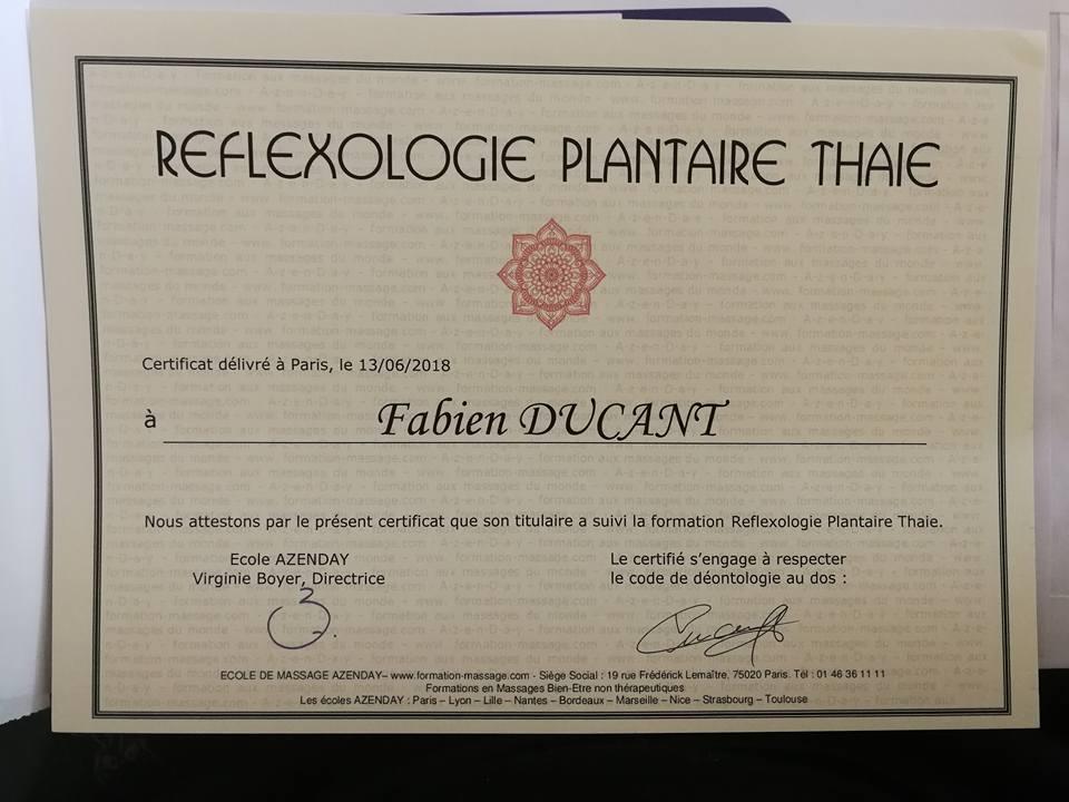 Réflexologie Plantaire Thaï