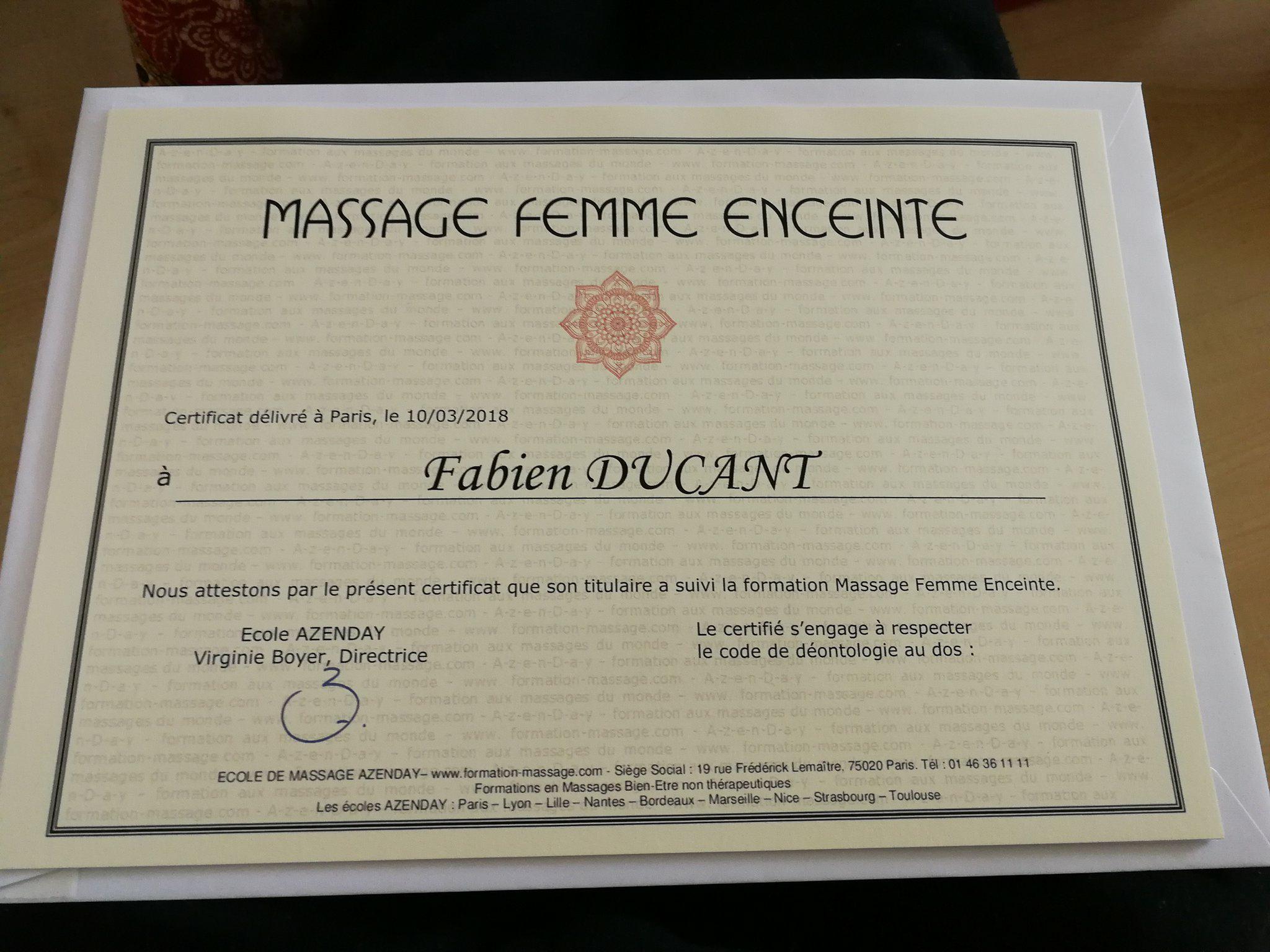 massage femme enceinte Valenciennes