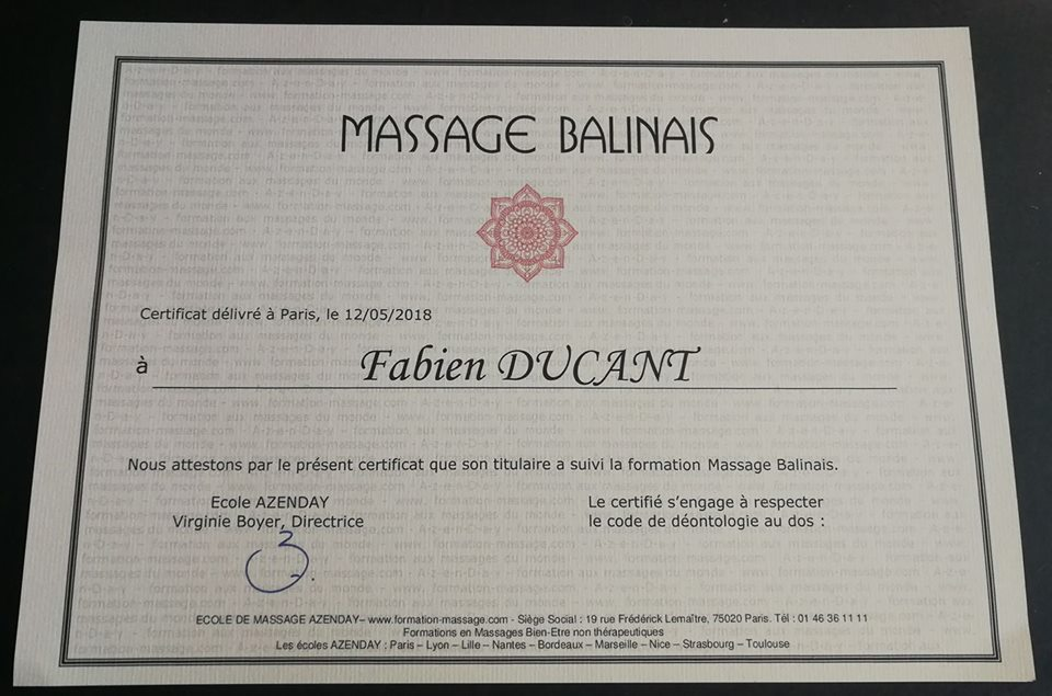 Massage Balinais Valenciennes
