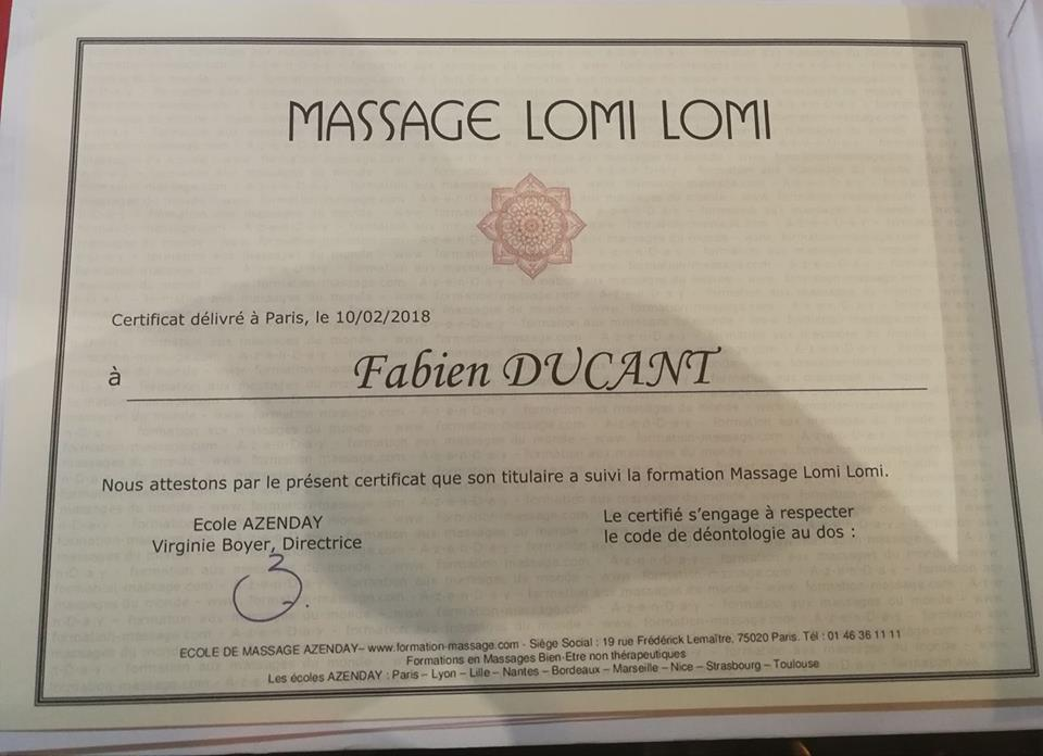 Massage Lomi Lomi  Valenciennes