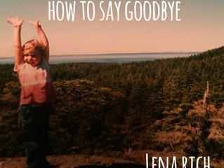NEW SINGLE-HOW TO SAY GOODBYE