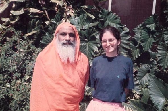 Swami Dayananda e Gloria Arieira