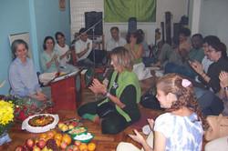 Satsanga Aniv.Profa.Gloria Arieira