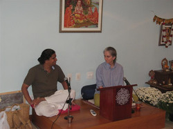 Satsanga com Ravi