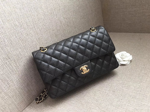 CHANEL CLASSIC CAVIAR LEATHER 25cm