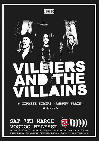 VILLIERS AND THE VILLAINS