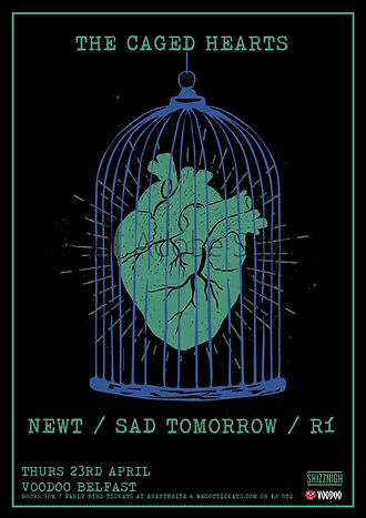 THE CAGED HEARTS
