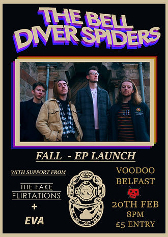 THE BELL DIVER SPIDERS